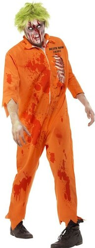 Kostým Zombie trestanec Velikost L 52-54