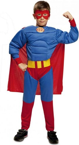 Dětský kostým Svalnatý hrdina Pro věk (roků) 10-12