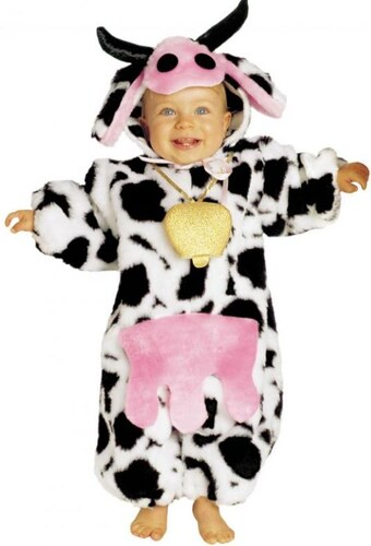 Dětský kostým Kravička Pro věk (roků) 0-6m