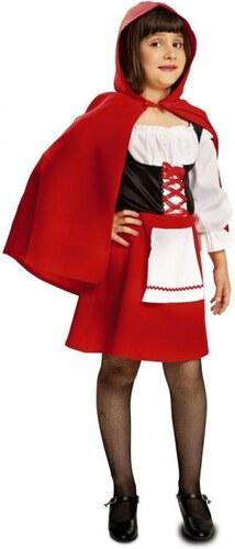 Dětský kostým Červená Karkulka Pro věk (roků) 10-12