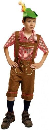 Dětský kostým Tyrolák Pro věk (roků) 10-12