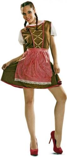 Kostým Tyrolská dívka Velikost M/L 42-44