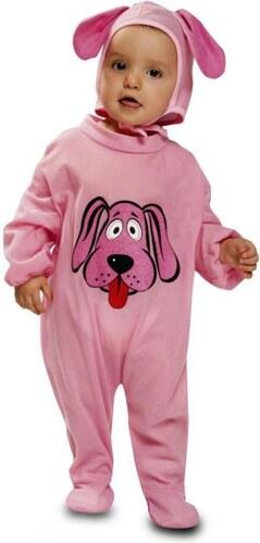 Dětský kostým Růžový pejsek Pro věk (měsíců) 7-12