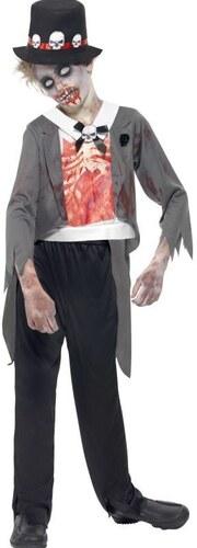Dětský kostým Zombie ženich Pro věk (roků) 10-12