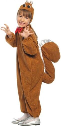 Dětský kostým Veverka Pro věk (roků) 3-4