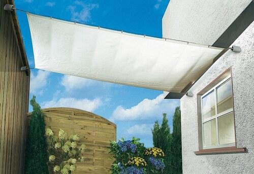 Sonnensegel »Spar-Set uni weiß in 3 Größen«
