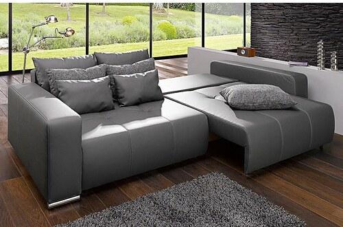 Big-Sofa, mit Bettfunktion
