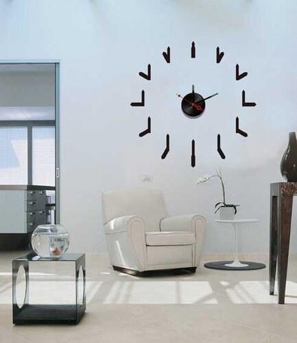 Nalepovací nástěnné hodiny - Clock Hands - 10A076