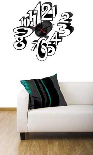 Nalepovací nástěnné hodiny - Funky - 10A093