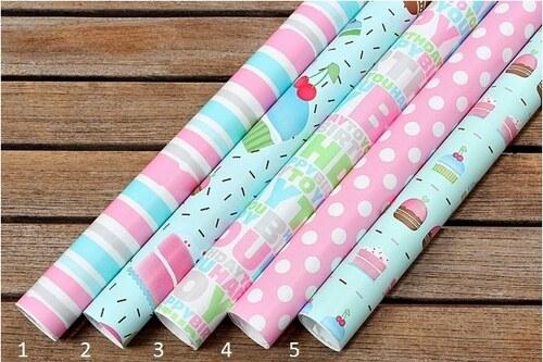 Balící papíry Pink Sweet Styl 1