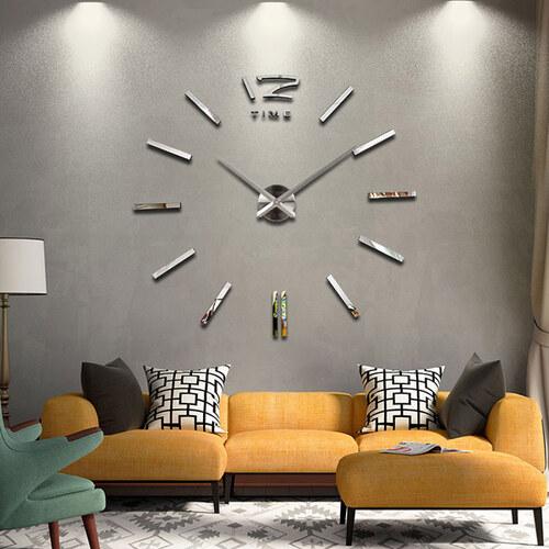ee389f700 3D Nalepovací nástěnné hodiny - 12S003-S - Glami.cz