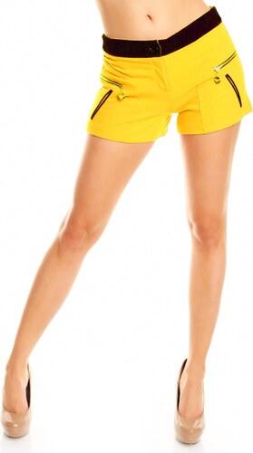 Dámské kraťasy SWEEWE - žluté