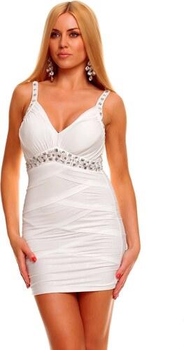 Dámské šaty Ethina - bílé