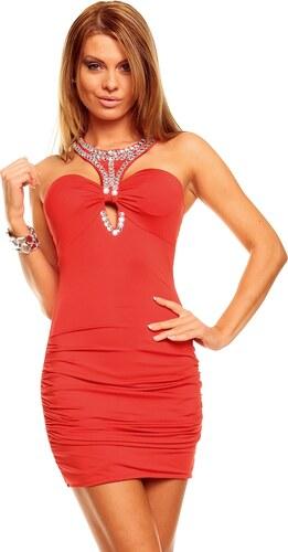 Dámské elegantní šaty Muse - červené