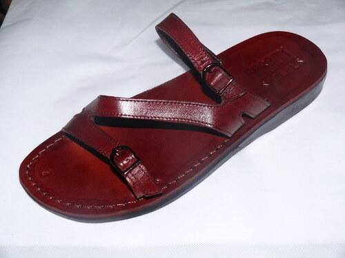 Kožené sandály 208 Tao - bez klínu