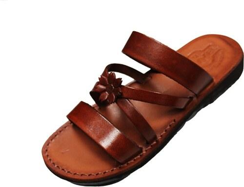 Kožené sandály 056 Sanacht