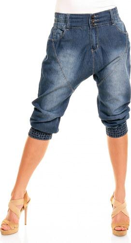 Dámské džínové capri kalhoty s nízkým sedem Laulia - modré - Glami.cz 6ac9dcfdf7