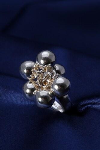 Stříbrný prsten PS042