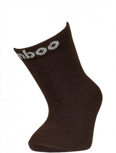 Dětské bambusové ponožky Bobik(hnědá)