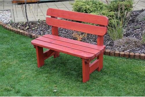 Dětská zahradní lavice