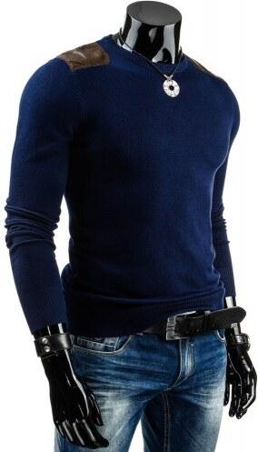 Pánský svetr Rabbo modrý - modrá