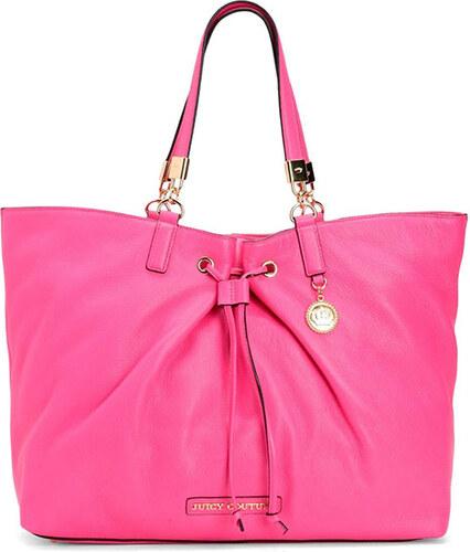 81d0b54d4 Růžová kožená kabelka Juicy Couture robertson - Glami.cz