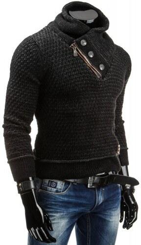 Pánský svetr Rubo černý - černá