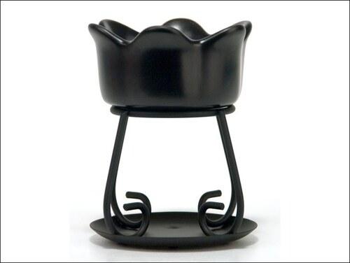 Aromalampa Petal Bowl černá