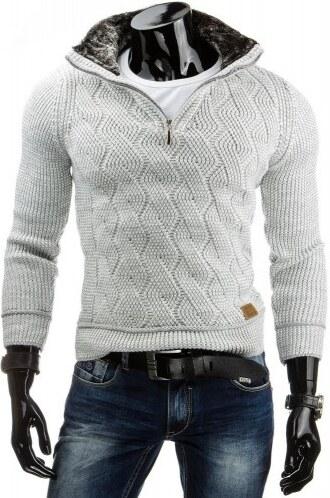 Pánský svetr Tubraka bílý - bílá