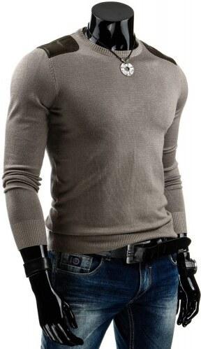 Pánský svetr Tony béžový - béžová