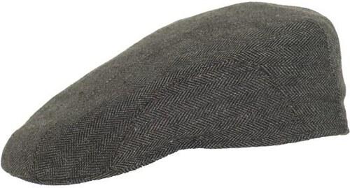 Stetson Madison - šedá hedvábná plochá letní čepice s kšiltem - Glami.cz a3c7577609