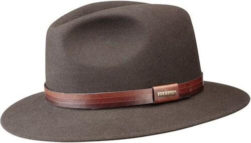 Stetson Ramsey - hnědý plstěný klobouk - Glami.cz 72fd99f811