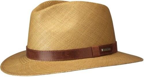 Stetson Bohemia - luxusní pravý světle hnědý panama klobouk - Glami.cz fd65dbc470