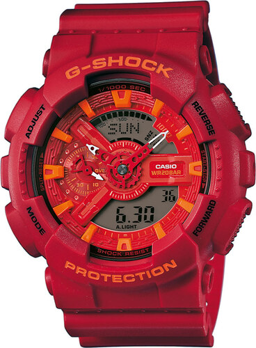 Casio G-Shock GA 110AC-4AER červené - Glami.cz f86f1d0243c
