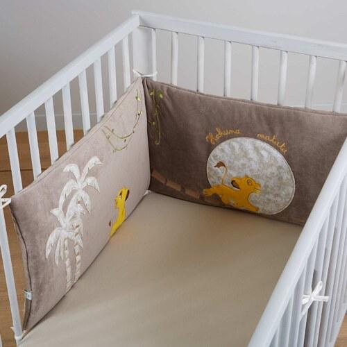 disney baby tour de lit 'le roi lion' - glami.fr