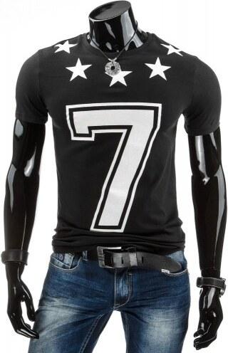 Tričko s krátkým rukávem Woro černé - černá