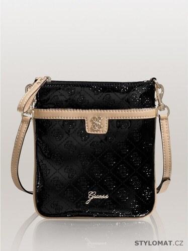df4680e9b3 Guess Luxusní dámská černá kabelka GUESS Reiko Mini Cross-Body ...