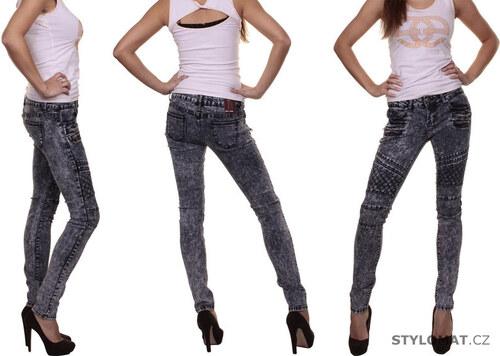 BT JEANS Dámské šedé džíny -