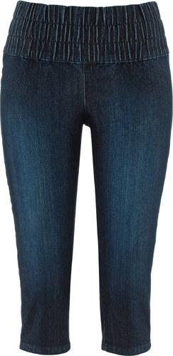 john baner jeanswear corsaire en jean ventre plat t n bleu femme bonprix. Black Bedroom Furniture Sets. Home Design Ideas