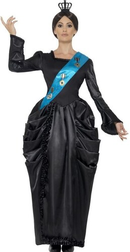 Kostým Královna Viktorie Velikost L 44-46