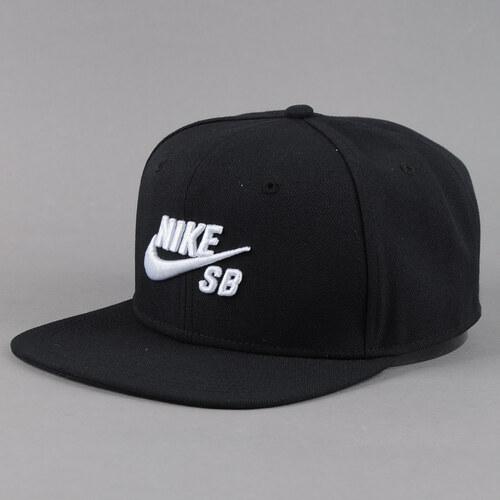 Nike Snapback Icon Pro černá   bílá - Glami.cz 413a827c52