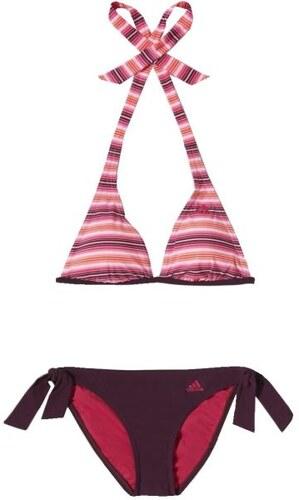 0763d322ba adidas Dvoudílné vínové plavky růžová 38 - Glami.cz