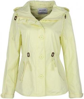 dámská jarní trendy bunda v pastelových barvách S