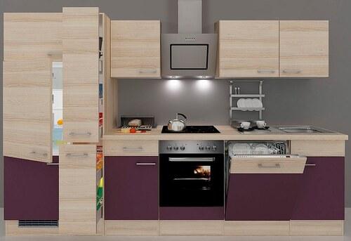 Küchenzeile mit E-Geräten »Portland«, Breite 310 cm