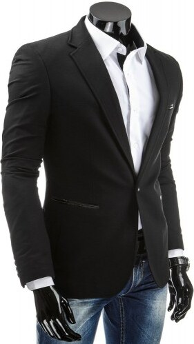 Pánské sako Vara černé - černá
