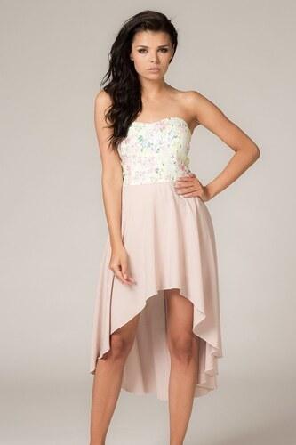 Stylové letní šaty bez ramínek Tessita - Glami.cz 8404fd145b