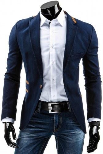 Pánské sako Pilano modré - modrá