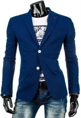 Pánské sako Rothe modré - modrá