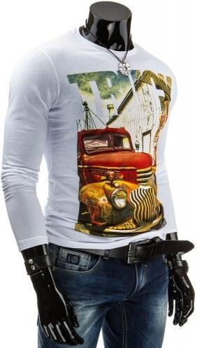 Tričko Wogo bílé - bílá