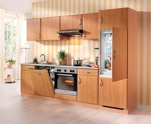Küchenzeile mit E-Geräten »Prag«, Breite 280 cm - Set 2